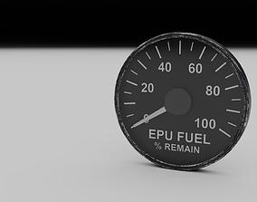 3D model F16 EPU Fuel Gauge