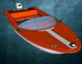 Motorboat Aqua Sports 3D print model