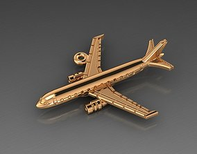 Airplane airbus pendant 3D print model