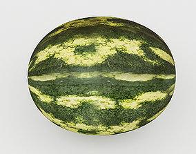 VR / AR ready 3D Watermelon Model