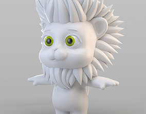 Cartoon Biped Lion 3D model