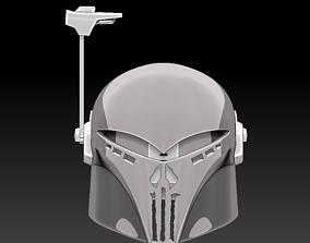 3d printable NightShade Mandalorian Helmet Sabine Wren