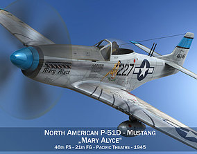 3D North American P-51D - Mary Alyce