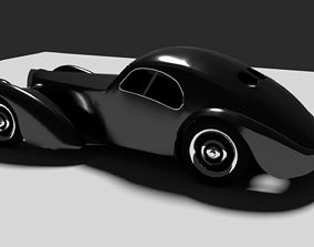 Bugatti Atlantic 1938 3D model