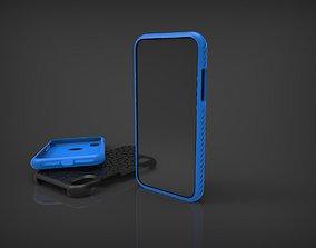 3D print model Cover Iphone XR voronio pattern