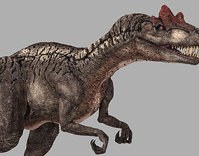 Allosaurus Animated 3D