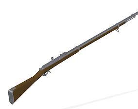3D model Berdan rifle No2