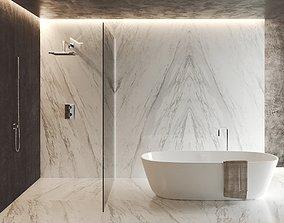 3D Carrara Bath