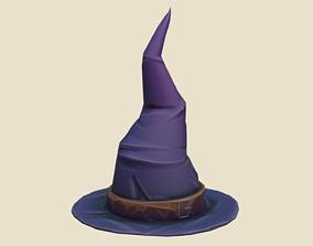 Wizard Hat 3D model realtime