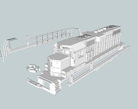 GP11 EMD Locomotive HO and N Scales 3D print model