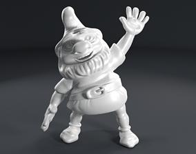 Smiling gnome 3D printable model