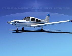 3D model Piper Warrior II