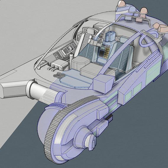 Bladerunner Spinner (Original) [Finishing work in progress]