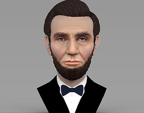 Abraham Lincoln bust ready for full color 3D printing