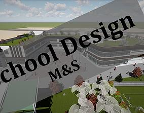3D model School Design
