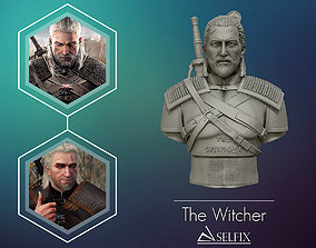 3D Sculpture of the witcher