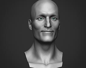 Bust Woody Harrelson 3D model
