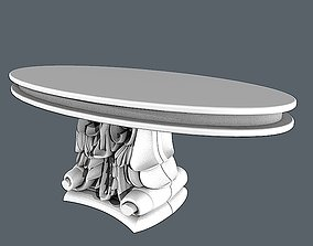 Dinning table 6 3D