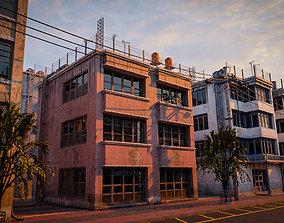 3D asset BUILDING URBAN AREA HONGKONG JAPAN CHINA ASIAN 05