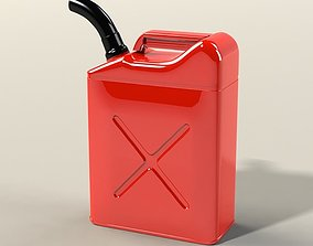 3D Simple free Jerrycan