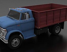 3D asset N-Series N-600 Grain Truck 1963