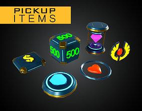 3D model Modular Pick Up Items