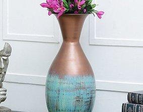 Round Flower Vase 3D