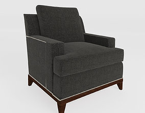3D asset 9th Street Chair by Hickory chair