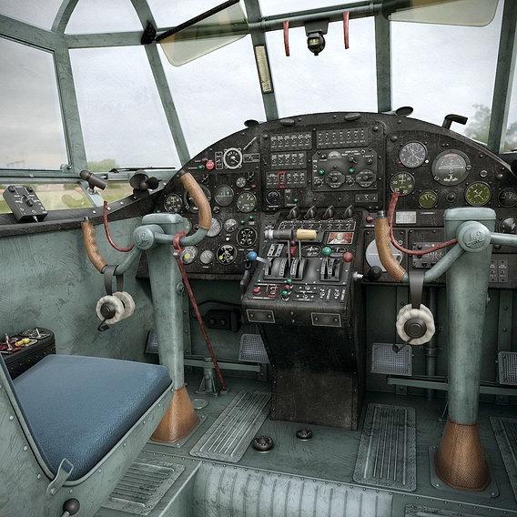 An-2T interior