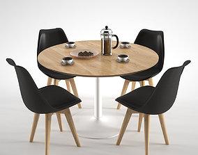 3D Habitat Lance Dining Table