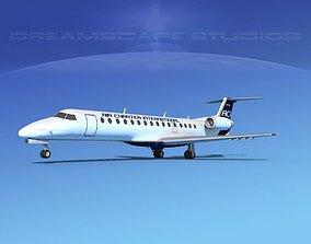 Embraer ERJ-140 Air Charter Intl 3D model