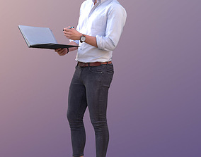 3D asset Dan 10480 - Talking Business Man