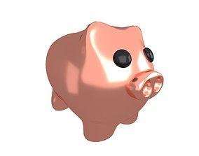 3D model Piggy Bank V1 006