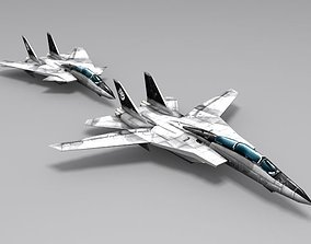 F-14 D Super Tomcat 3D asset