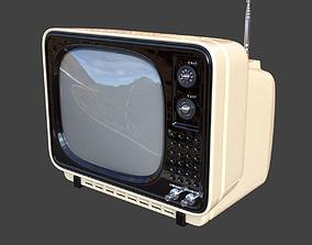3D model Vintage TV 2
