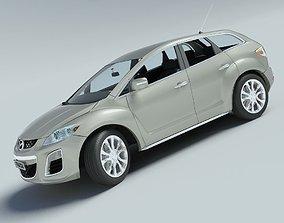 3D model Mazda CX-7 2010