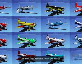 3D 15 Zivko Edge Aerobatic Aircraft