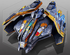Free SciFi Fighter 3D model