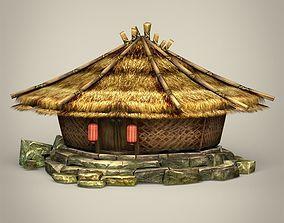 3D asset Fantasy Hut