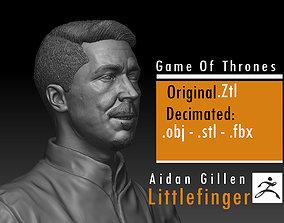 Aidan Gillen - Littlefinger Petyr Baelish 3D print model 3