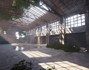 3D model SHC Abandoned Factory hall