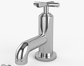 Washbasin Tap Helix series by Hudson 3D model