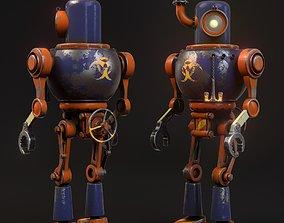 3D model Steam robot