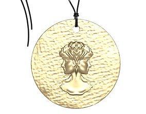 Zodiac Coin Gemini 3D print model