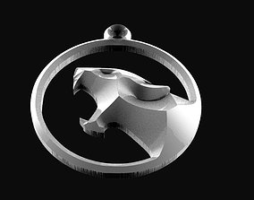 3D print model cougar keychain