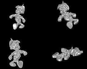 Pinocchio 3D printable model