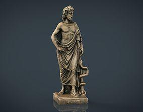 Asclepius 3D asset