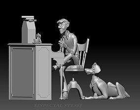 101 Dalmatians - Roger and Pongo 3D printable model