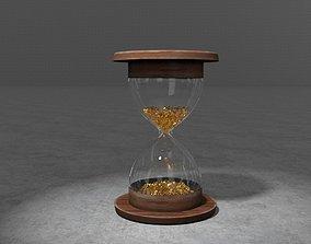 animated Animated 3D Hourglass
