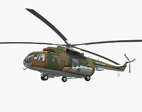 3D model Mi-8MT Russian Air Force